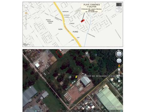 PANAMERICANA KM 37 RAMAL CAMPANA PLAYON ESTACIONAMIENTO 6500 M2
