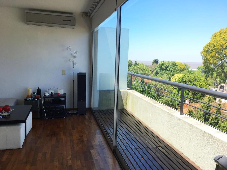 Moderno Duplex  de 3 ambientes con terraza propia y vista al Rio