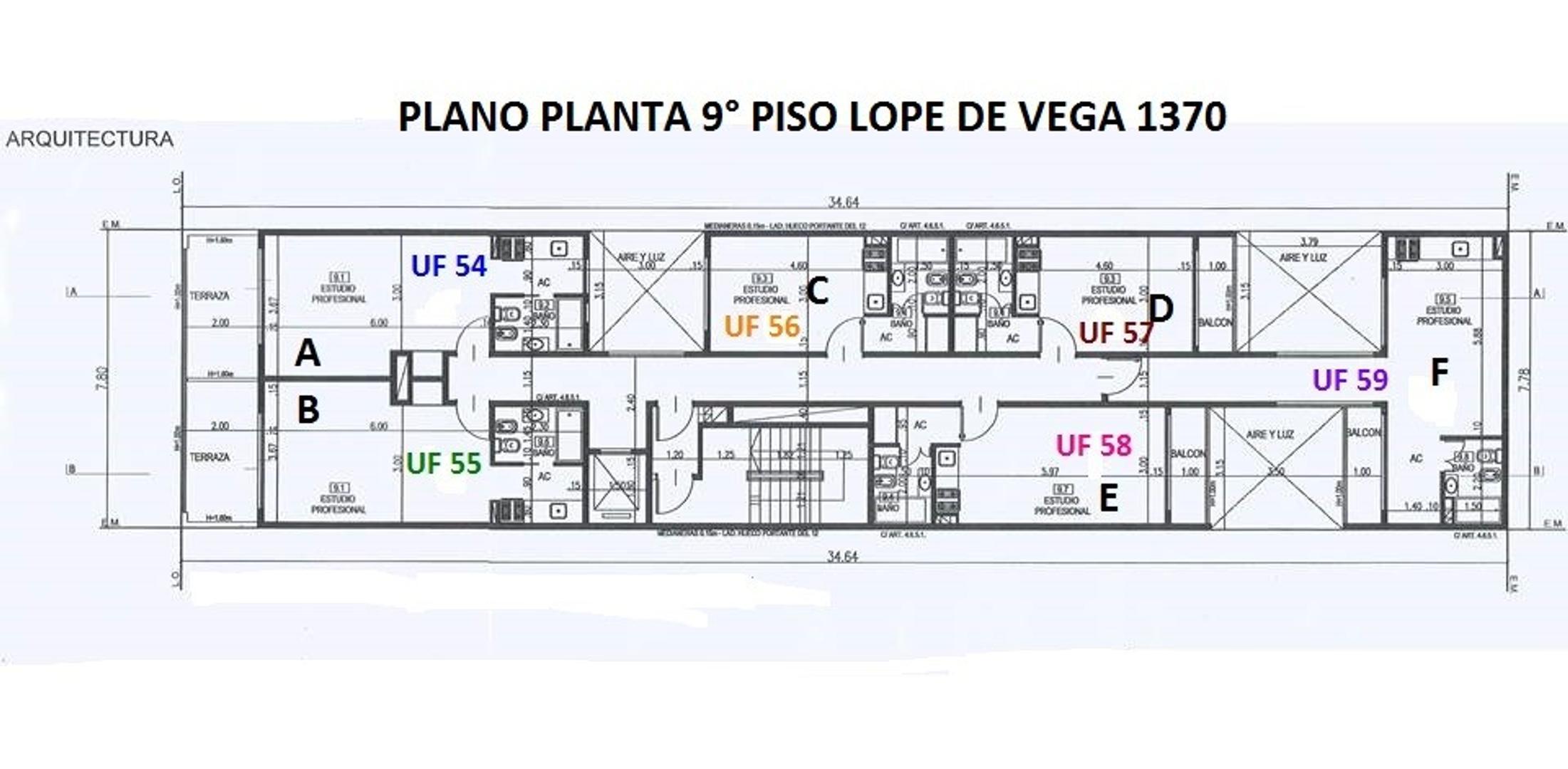 XINTEL(NIR-NIR-1023) Departamento - Venta - Argentina, Capital Federal - AV. LOPE DE VEGA  AL 1300