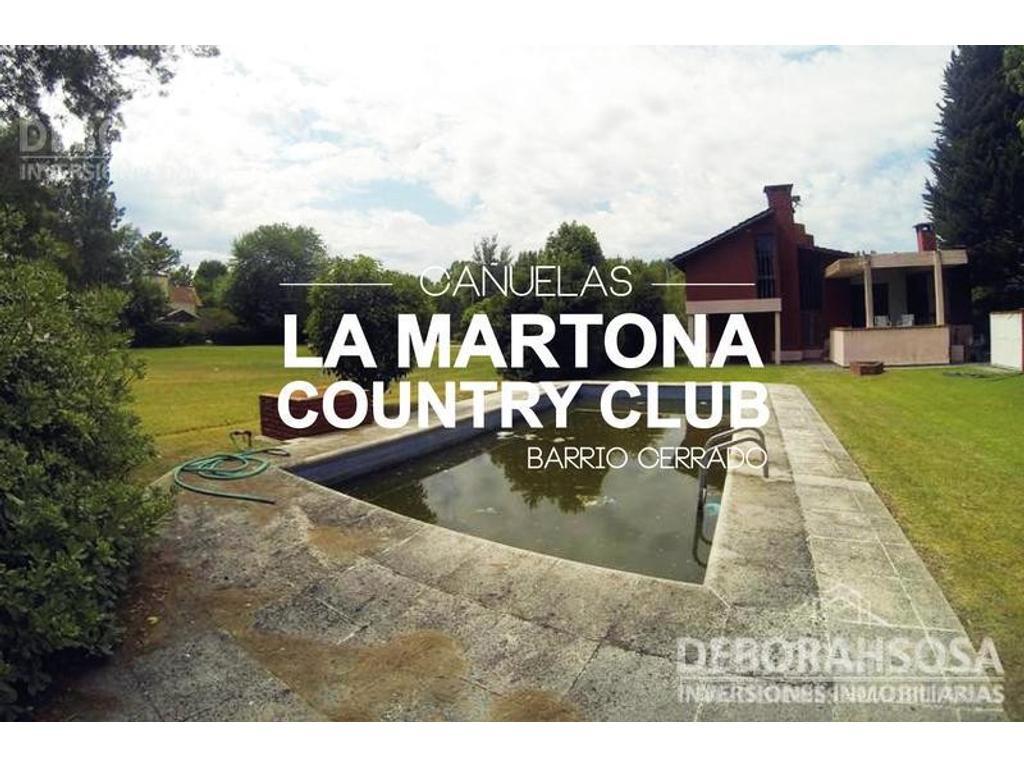 Hermoso Chalet en Country La Martona!