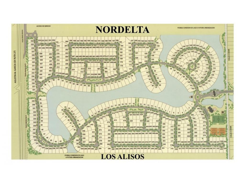 EXCELENTE LOTE EN LOS ALISOS, NORDELTA!