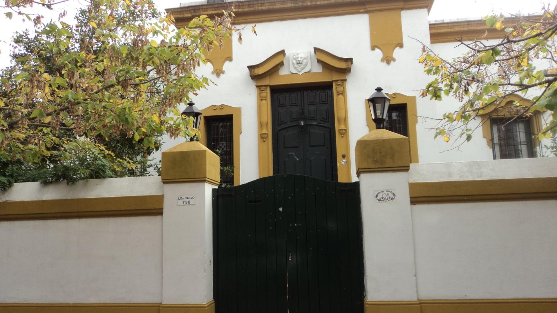 Lote en Avenida Alvear con 23.15 metros de frente sobre calle principal de Martínez