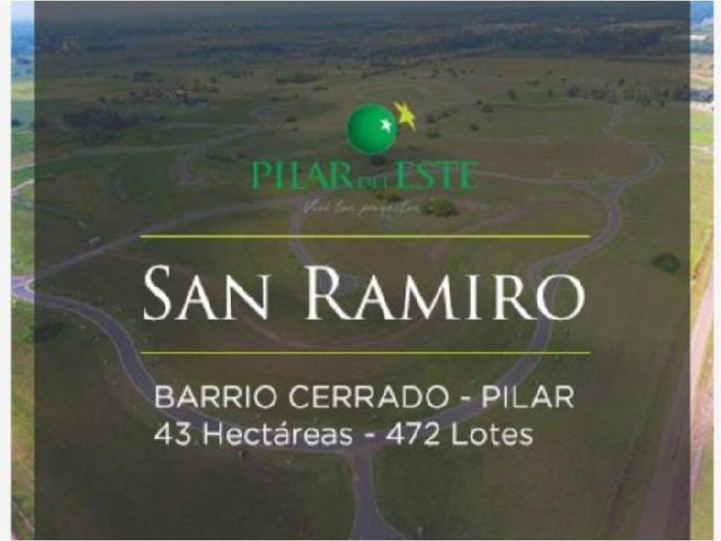 Lote en venta en Pilar del Este ( San Ramiro )
