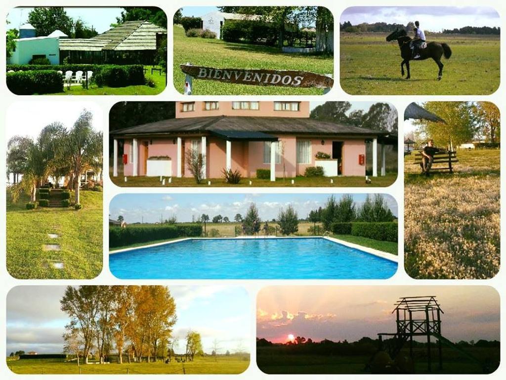 Casa de campo sobre 43 hectáreas con 5 bungalows