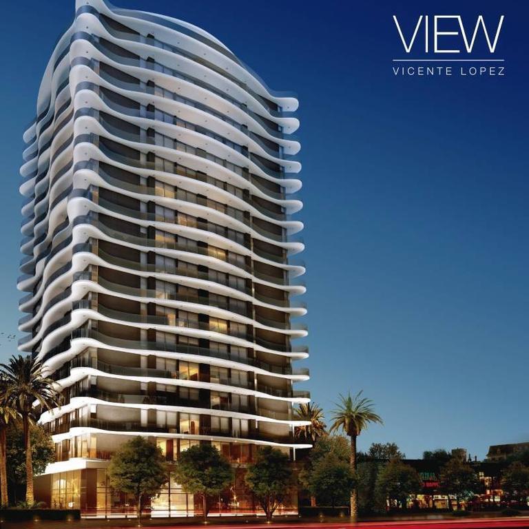 View Vicente López- Dos ambientes piso alto con vista residencial.
