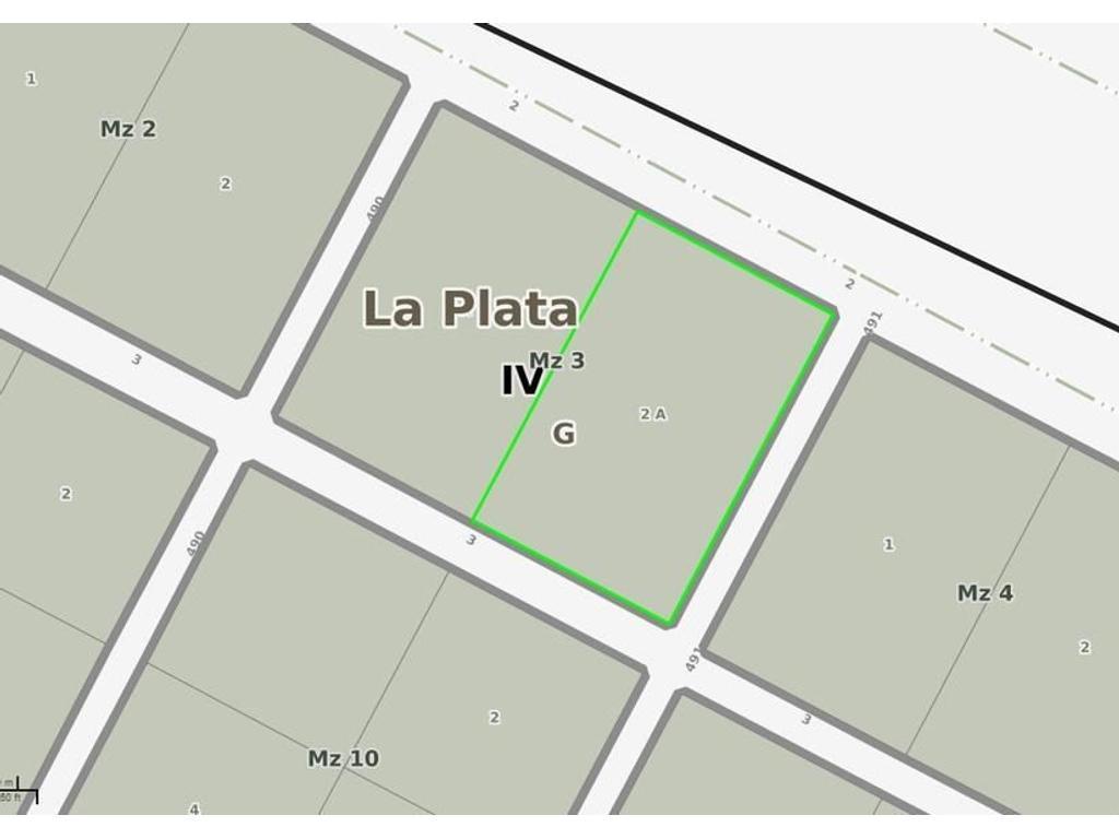 Terreno en Venta en Gonnet Calle 2 e/ 490 y 491 Dacal Bienes Raices