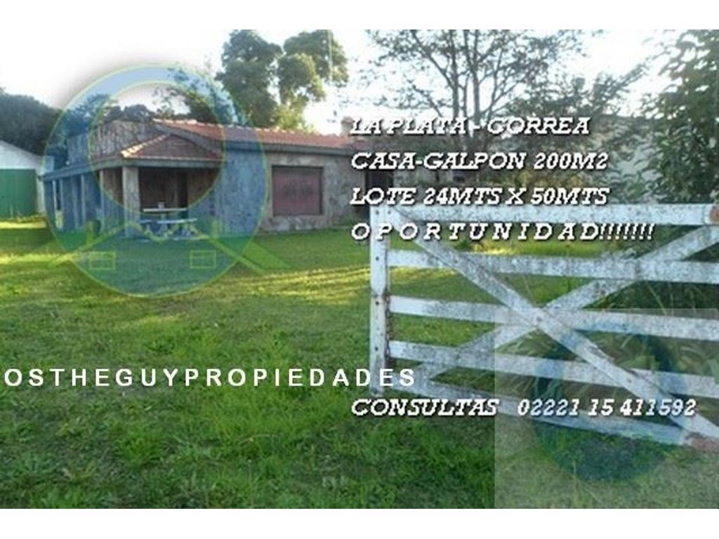 La Plata, Correa, casa venta