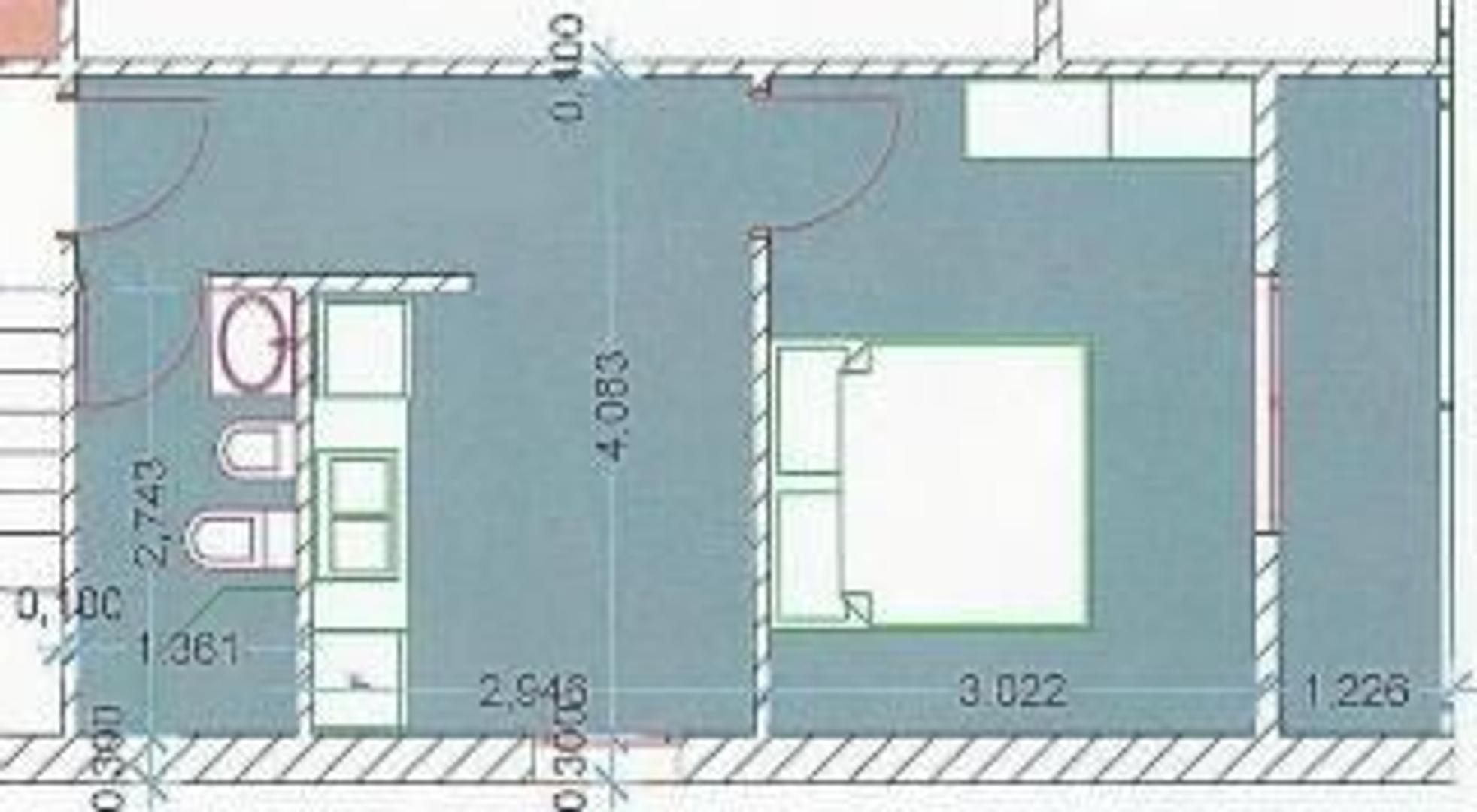 2 deptos de 2 ambientes en block en 3º y 4º piso