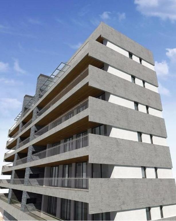 """Aldea, Fisherton: """"Torre Celman"""". Unidades de 1, 2 y 3 dormitorios con amplios balcones."""