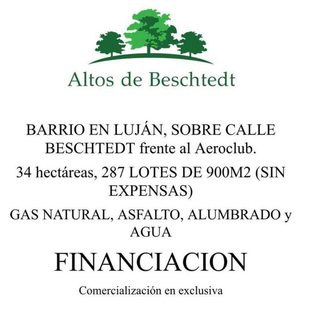 Terreno de  900 m2 en venta Altos de Beschtedt Oportunidad de financiación