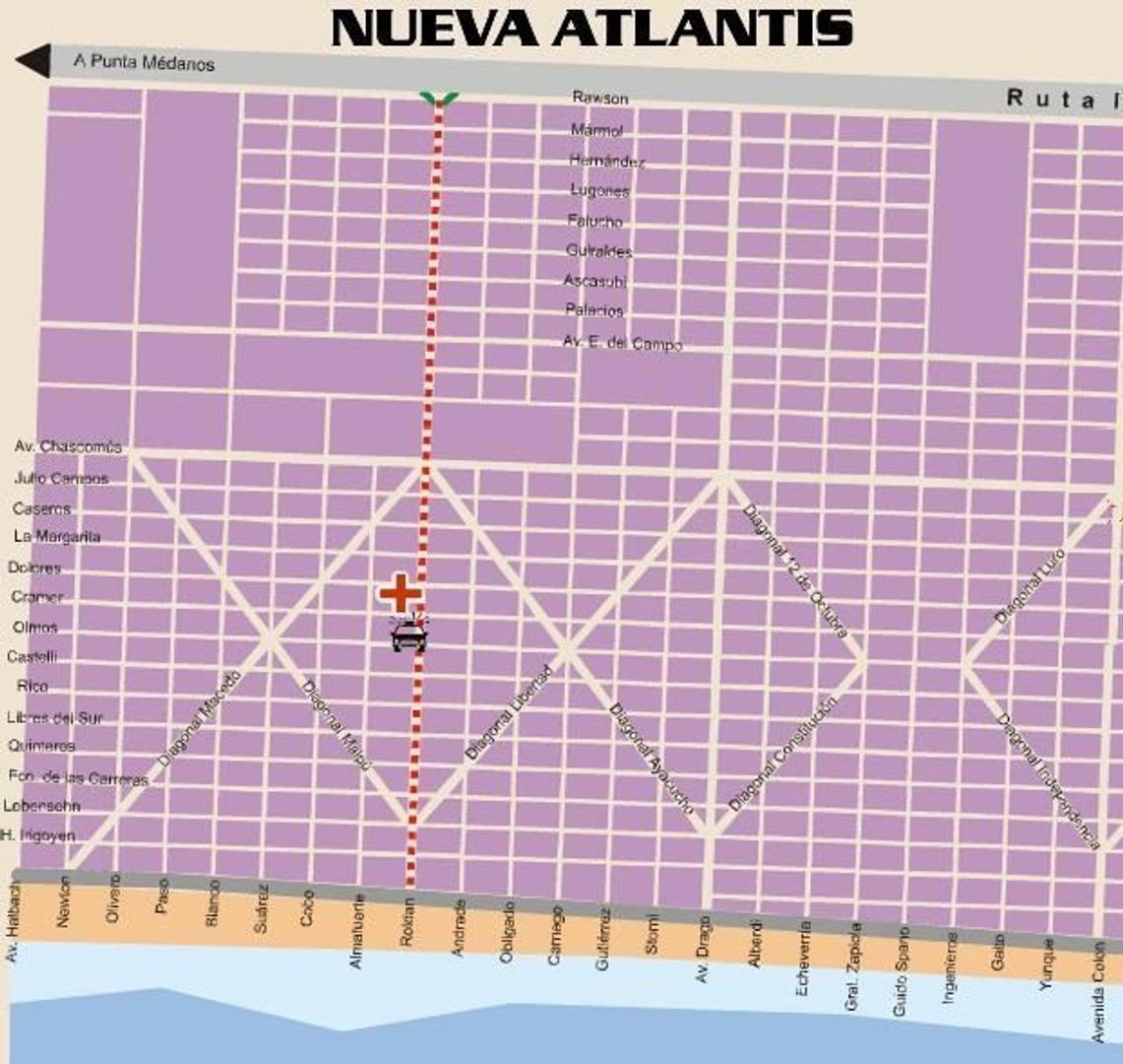 VENDO LOTE NUEVA ATLANTIS PDO MAR DE AJO V3646