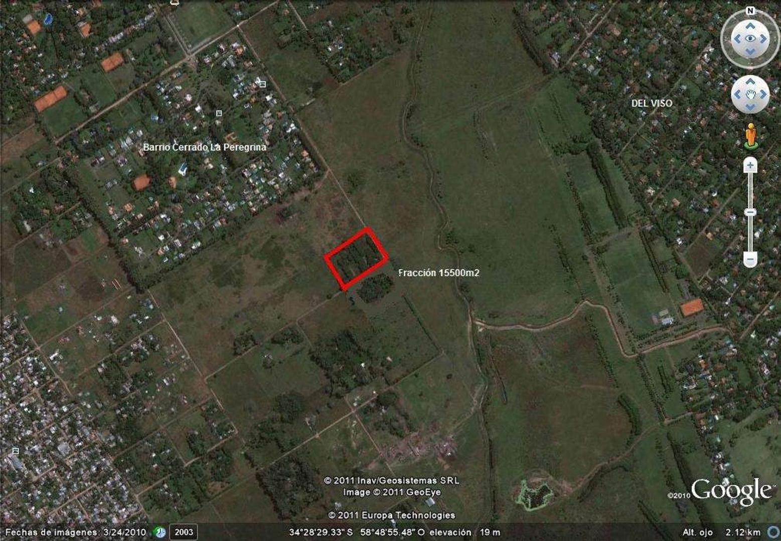 Terreno Fraccion  en Venta ubicado en Pilar, Pilar y Alrededores - PIL2762_LP17462