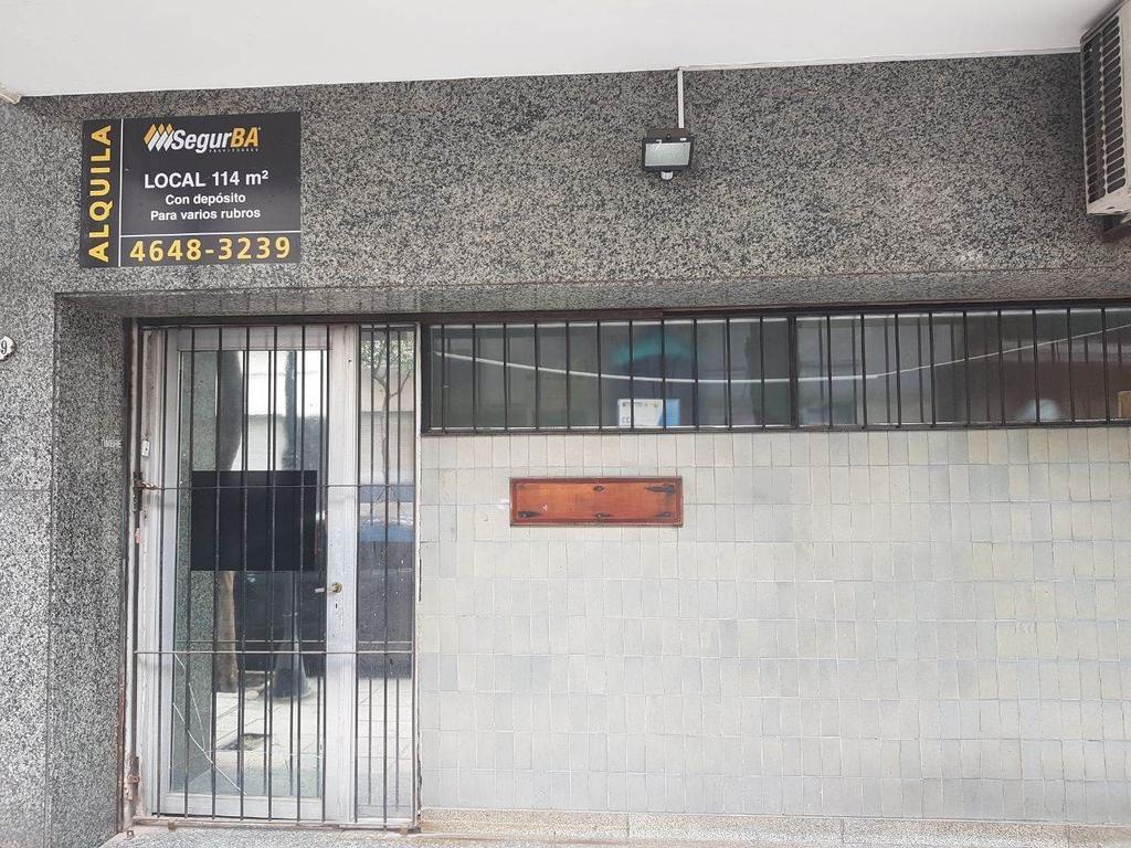 LOCAL 114m² C/DEPOSITO - APTO VARIOS RUBROS - ZONA ABASTO - ALQUILER