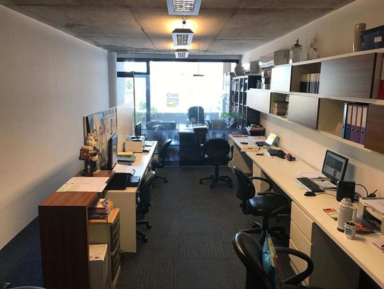 Alquiler oficina con cochera en Palermo - opcional amoblada