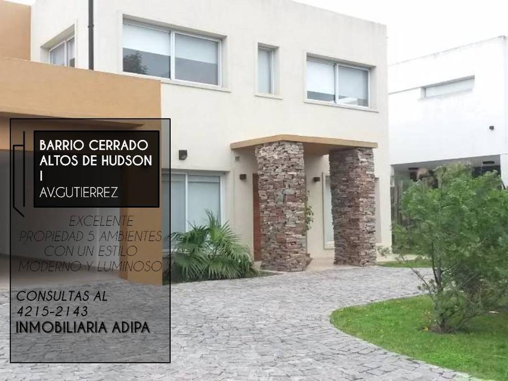 Casa En Venta En Av Gutierrez Hudson Guillermo E Hudson  # Venta De Muebles Hudson
