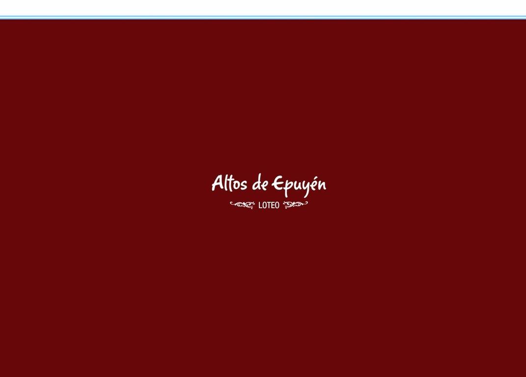 """LOTEO """"ALTOS DE EPUYEN"""""""