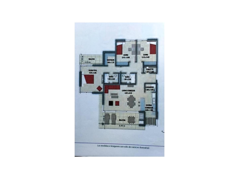 Complejo  Pasionaria de categoría  Semipiso 4 ambientes  con terraza y parrilla  propia   - Foto 18