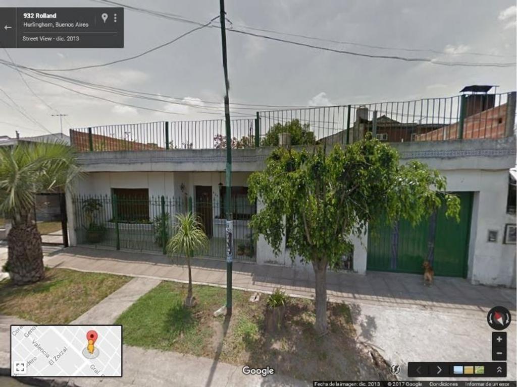 Casa 2 FLIAS - 3 amb c/gge 3 autos, patio terraza + Depto monoambiente
