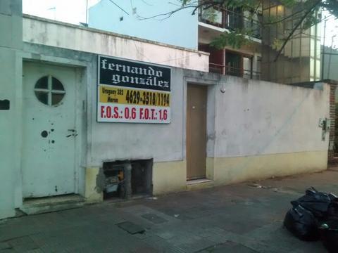 Terreno en Morón, calle Mitre, ideal inversor. Centrico, tres cuadras Rivadavia