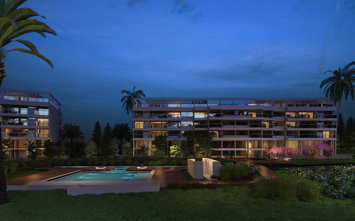 Unid. Premium en Hotel de 1° categoría en el Pilar Golf. De uno a cuatro ambientes