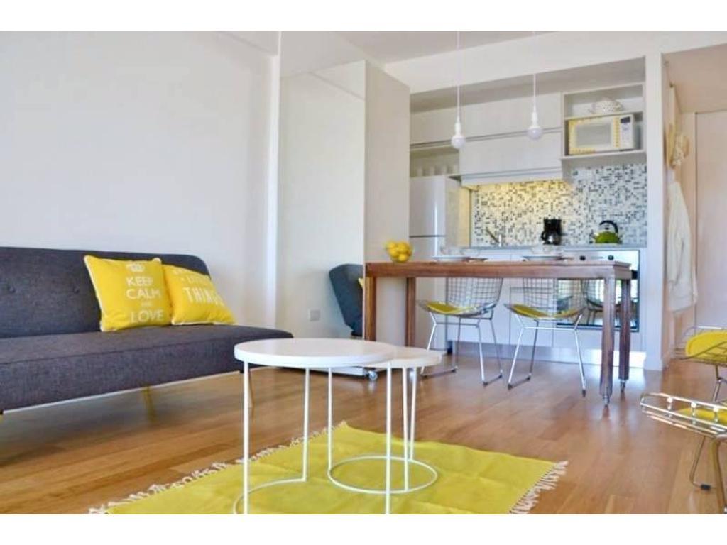 Hermoso estudio con amenities en Palermo Soho