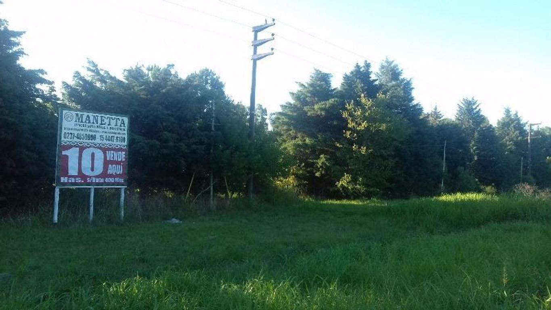 10 Has Para barrio cerrado lotes de 1000 mts sobre  ruta 28 Gral. Rodríguez a Pilar , 400 mts sobre