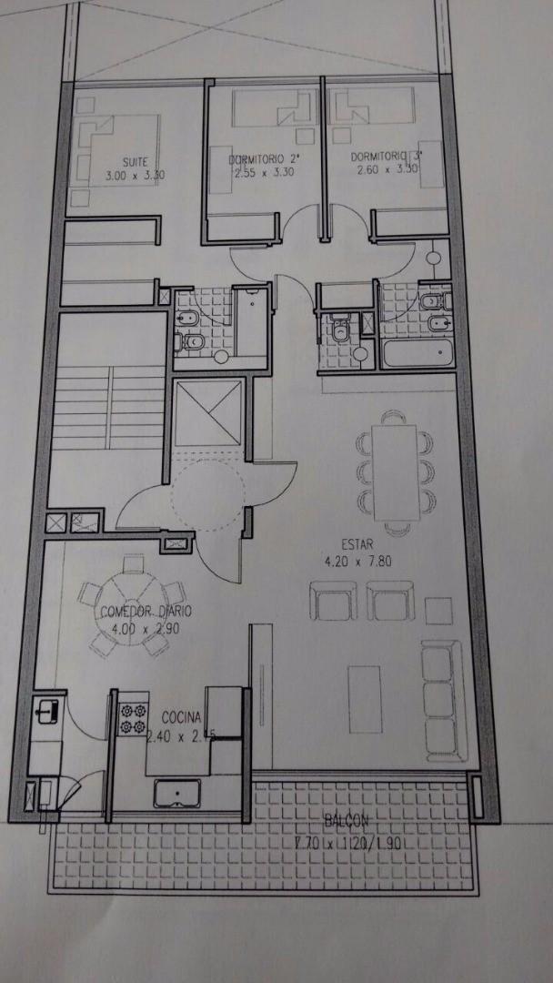 Departamento en Venta en Villa Crespo - 4 ambientes