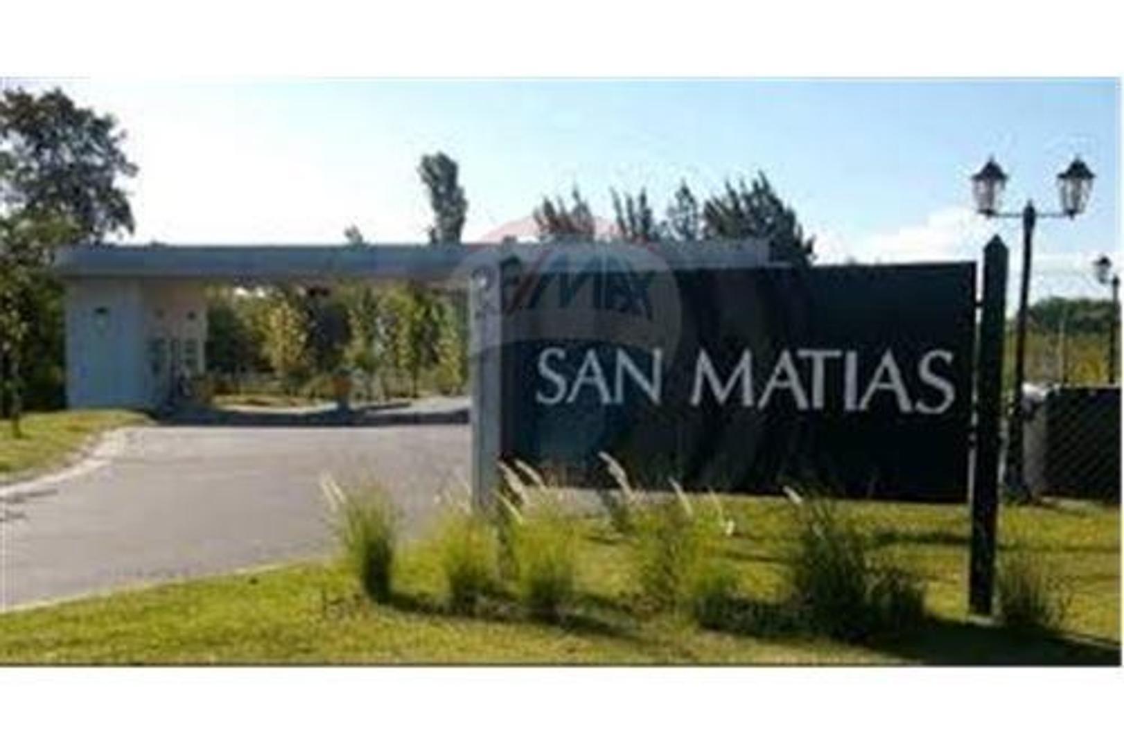 Lote interno en VENTA en San Matías