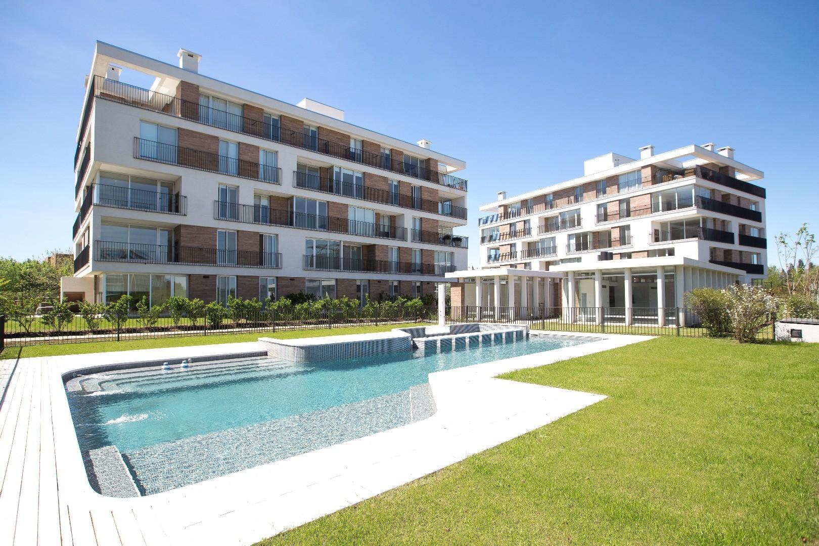 Excelente 3 ambientes a estrenar en condominio Vilahaus Pilar.
