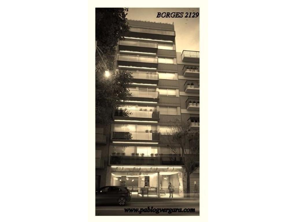 BORGES 2100 piso 2 B, Palermo Soho. 3 ambientes. Financiación hasta en 24 cuotas