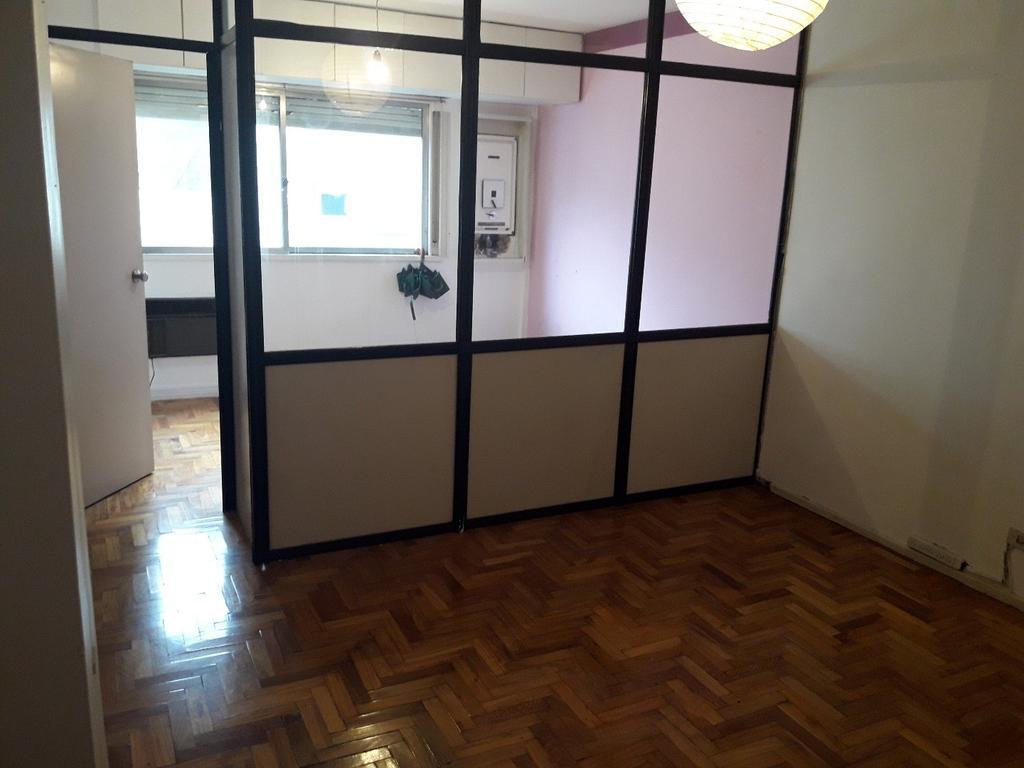 Excel monoambiente  fte lumin apto vivienda u Oficina dividido con mampara vidrio bño comp kichinet