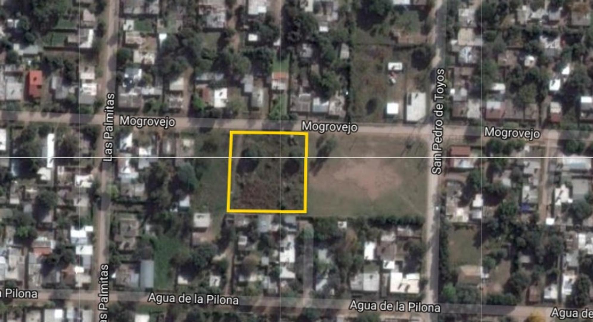 Cuatro terrenos de 625m2 cada uno, zona Shopping Paseo Rivera
