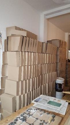 venta de Negocio de fabrica de cajas de cartón