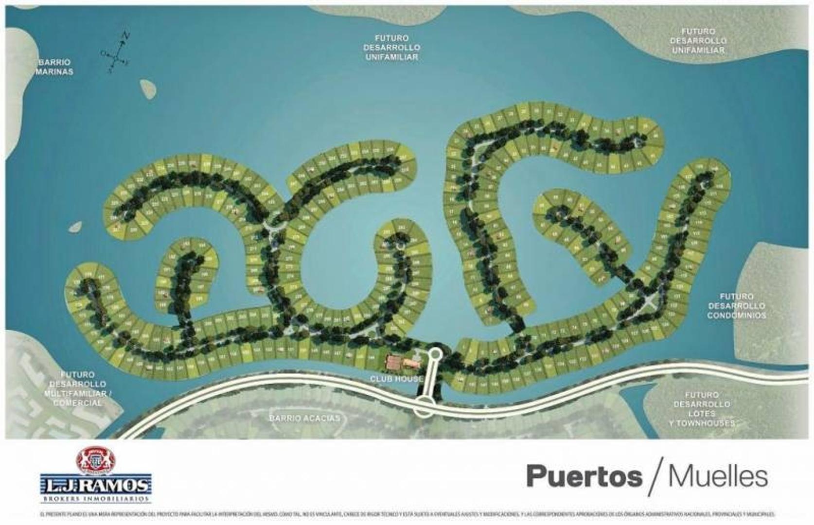 PUERTOS - BARRIO MUELLE - RAMAL ESCOBAR KM 45 - LOTE 138 - 100