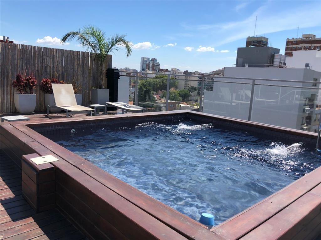 Impecable 2 ambientes y medio con parrilla, en Villa Urquiza